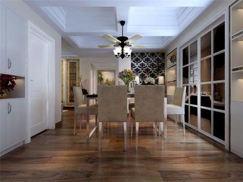 融科城现代简约风格三居室装修效果图