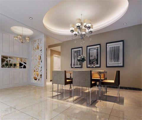 琥珀瑞安家园简约风格三居室装修效果图