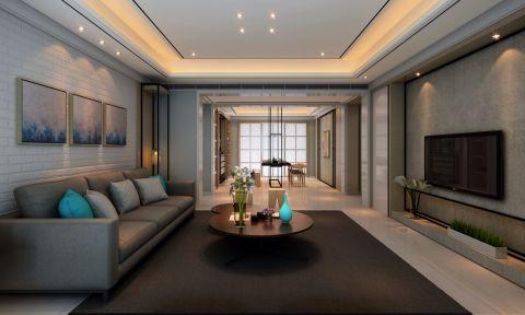 客厅背景墙古典风格装饰效果图