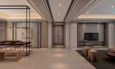 客厅隔断古典风格装饰设计图片