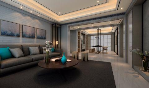 客厅门厅古典风格装潢效果图