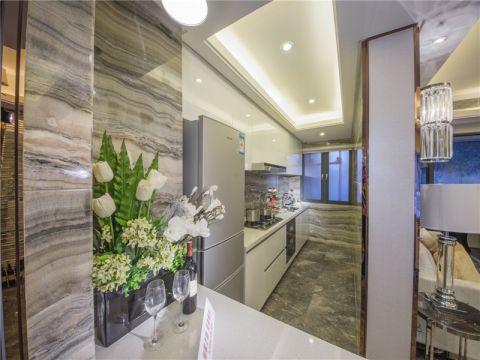 自然白色厨房效果图图片