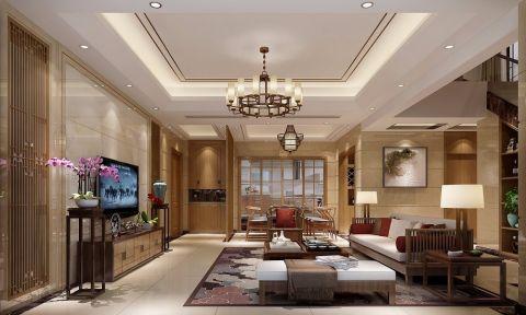 简中风格160平米四室两厅新房装修效果图
