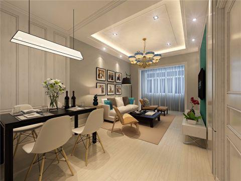 简约现代白色走廊装潢设计图片