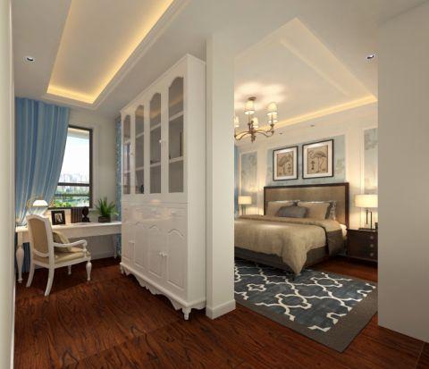卧室吊顶简欧风格装修设计图片