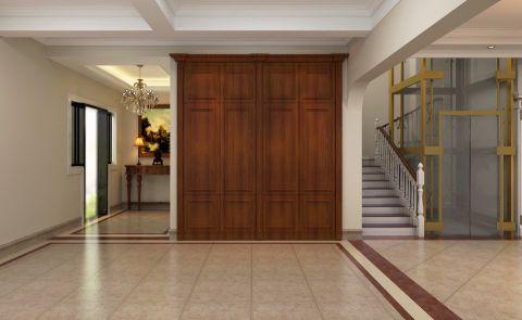 玄关楼梯古典风格装修效果图