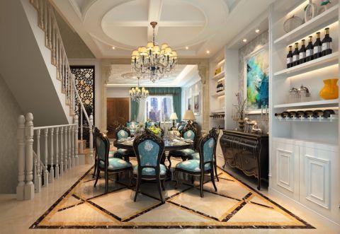 餐厅楼梯经典风格效果图