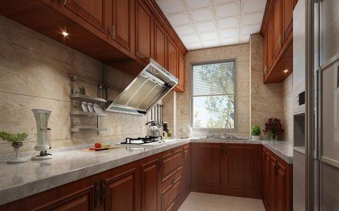 厨房中式风格装潢效果图