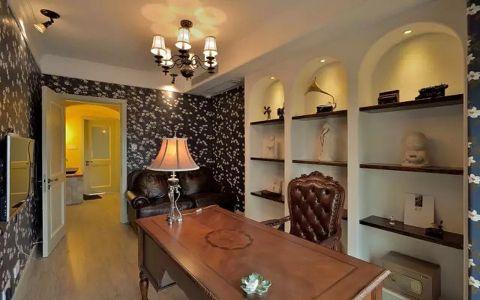 复地东湖国际三居室现代混搭风格装修效果图