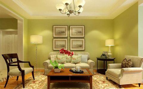 客厅照片墙欧式风格装潢设计图片