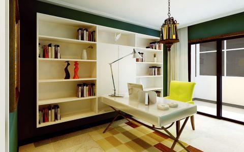 书房窗帘简约风格装修效果图