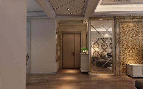 玄关吊顶新古典风格装潢图片