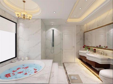 卫生间简欧风格装饰设计图片