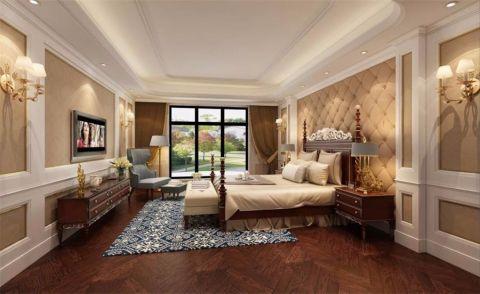 卧室简欧风格装潢设计图片