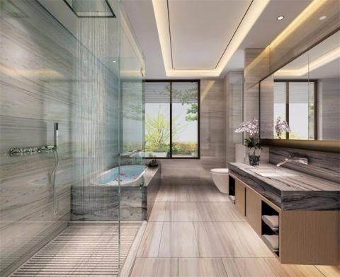 卫生间混搭风格装饰效果图