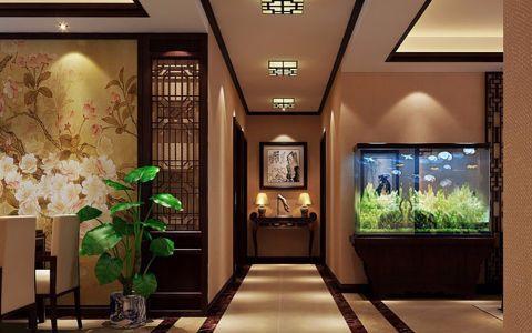 玄关吊顶中式风格装饰效果图