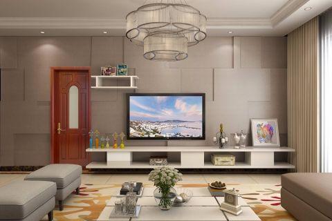客厅混搭风格装饰效果图