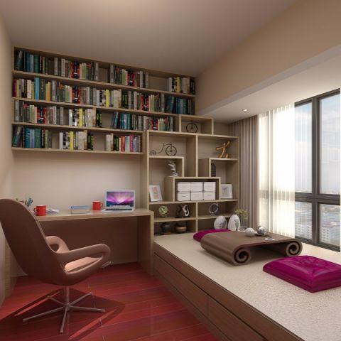 书房混搭风格装潢效果图
