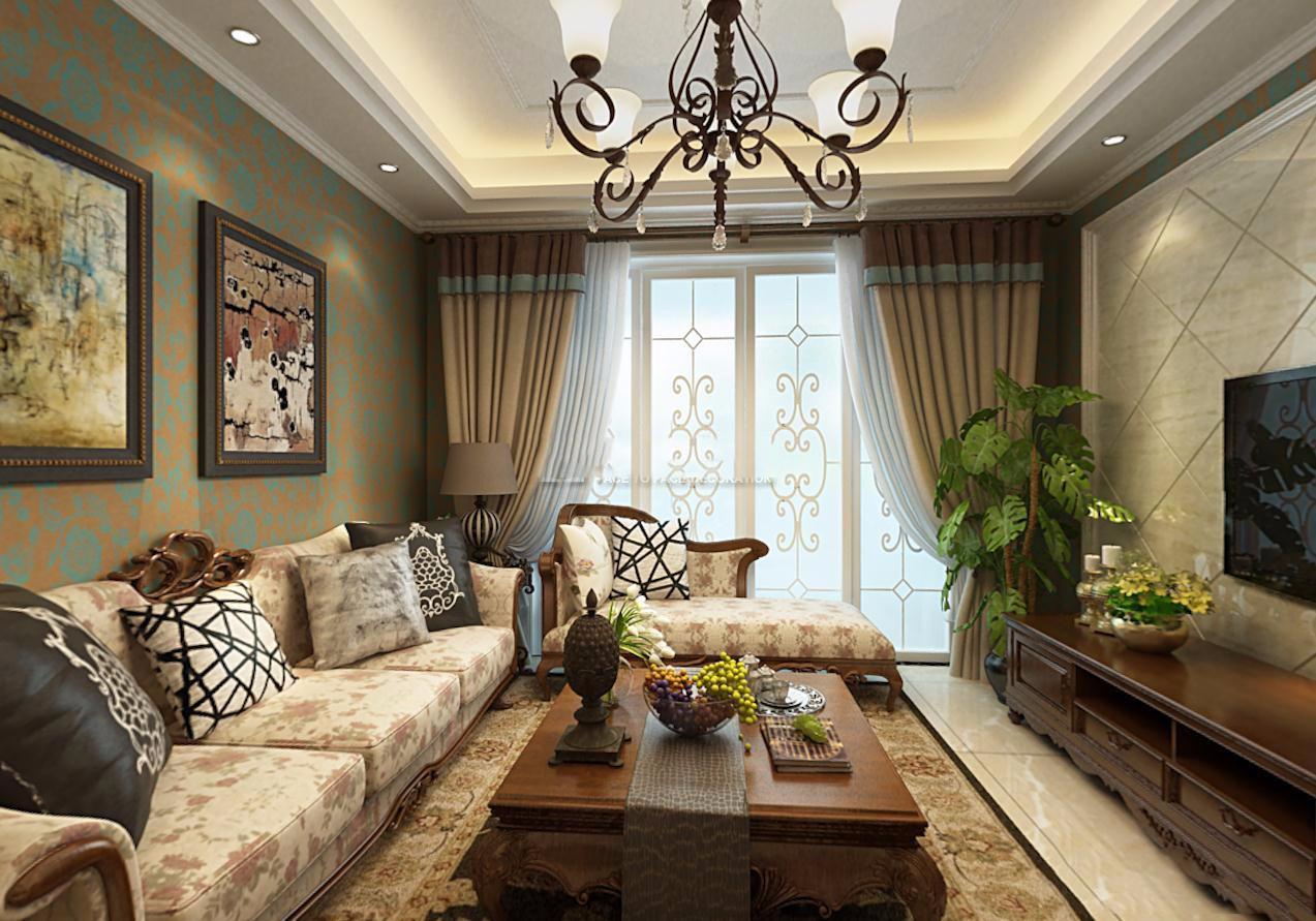 4室2卫2厅200平米美式风格