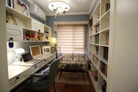 书房飘窗欧式风格装修设计图片