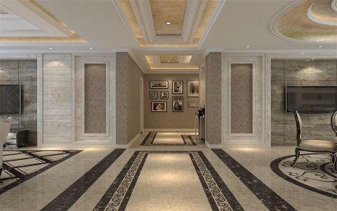客厅走廊简欧风格装饰图片