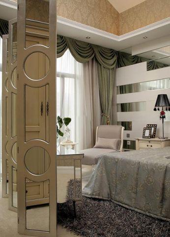 卧室隔断欧式风格装潢效果图