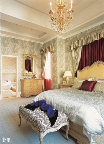 马山美式别墅300平装修效果图