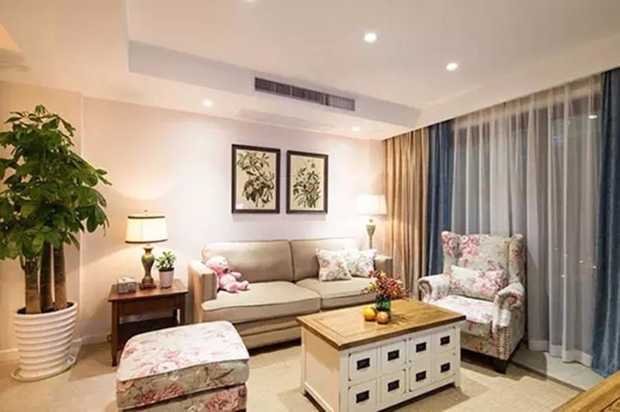 3室1卫2厅100平米田园风格