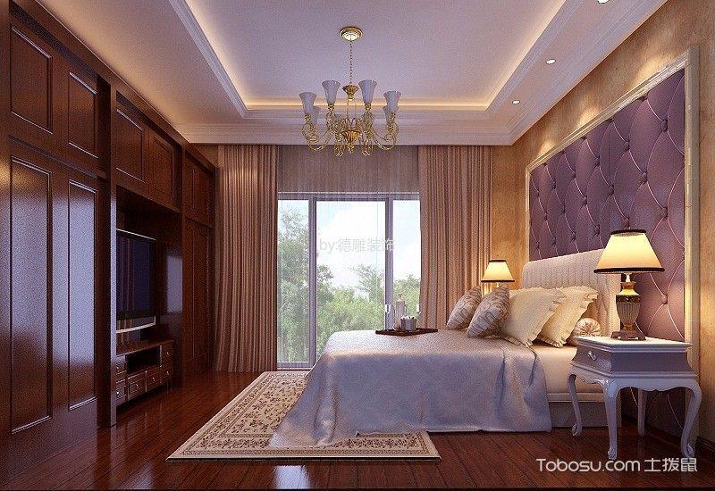 卧室白色吊顶混搭风格装修设计图片