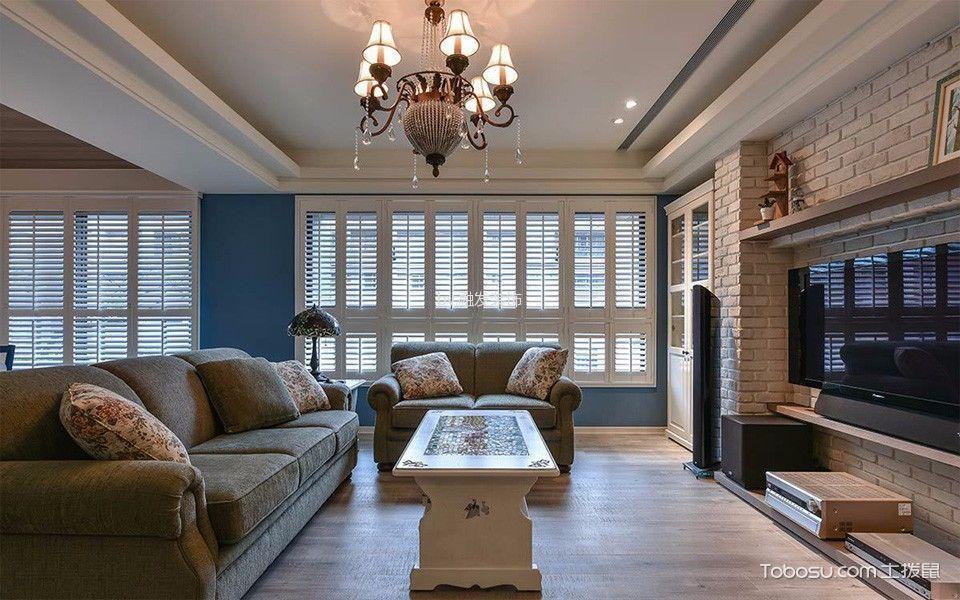 2021乡村90平米装饰设计 2021乡村三居室装修设计图片