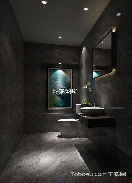 中式风格餐厅包厢卫生间中式风格餐厅