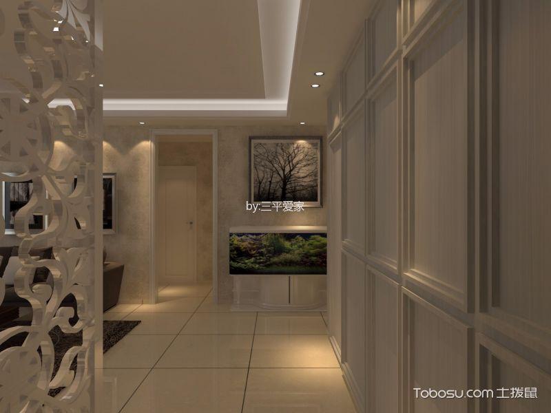 绿地世纪城二居室简约风格效果图