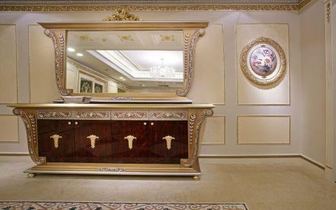卫生间背景墙欧式风格装潢图片