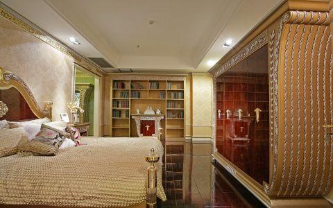 卧室博古架欧式风格装潢设计图片