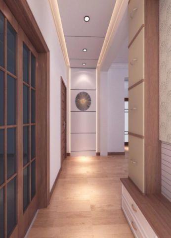 玄关吊顶地中海风格装潢效果图