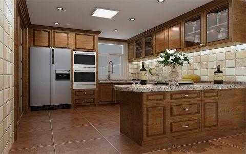 厨房吊顶美式风格装饰效果图