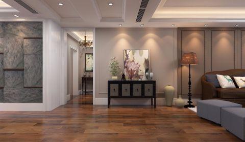 客厅走廊中式风格装潢设计图片