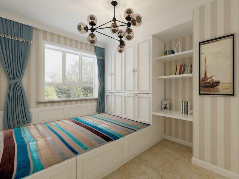 儿童房窗帘现代风格装饰效果图