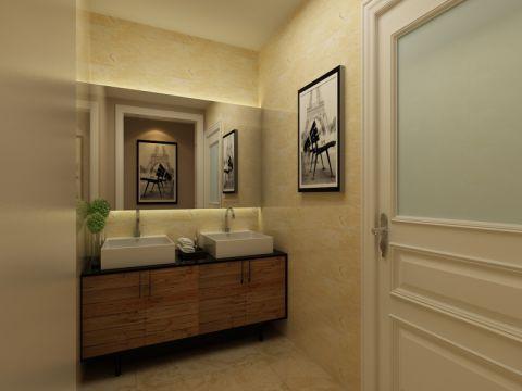 卫生间照片墙现代风格装修图片