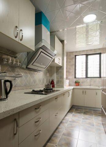 厨房吊顶中式风格装饰图片