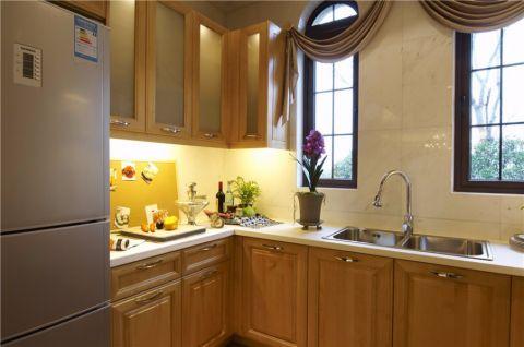 厨房背景墙混搭风格装饰设计图片