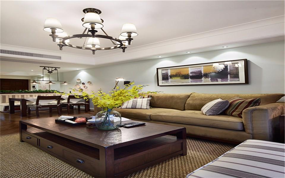 3室1卫2厅70平米美式风格