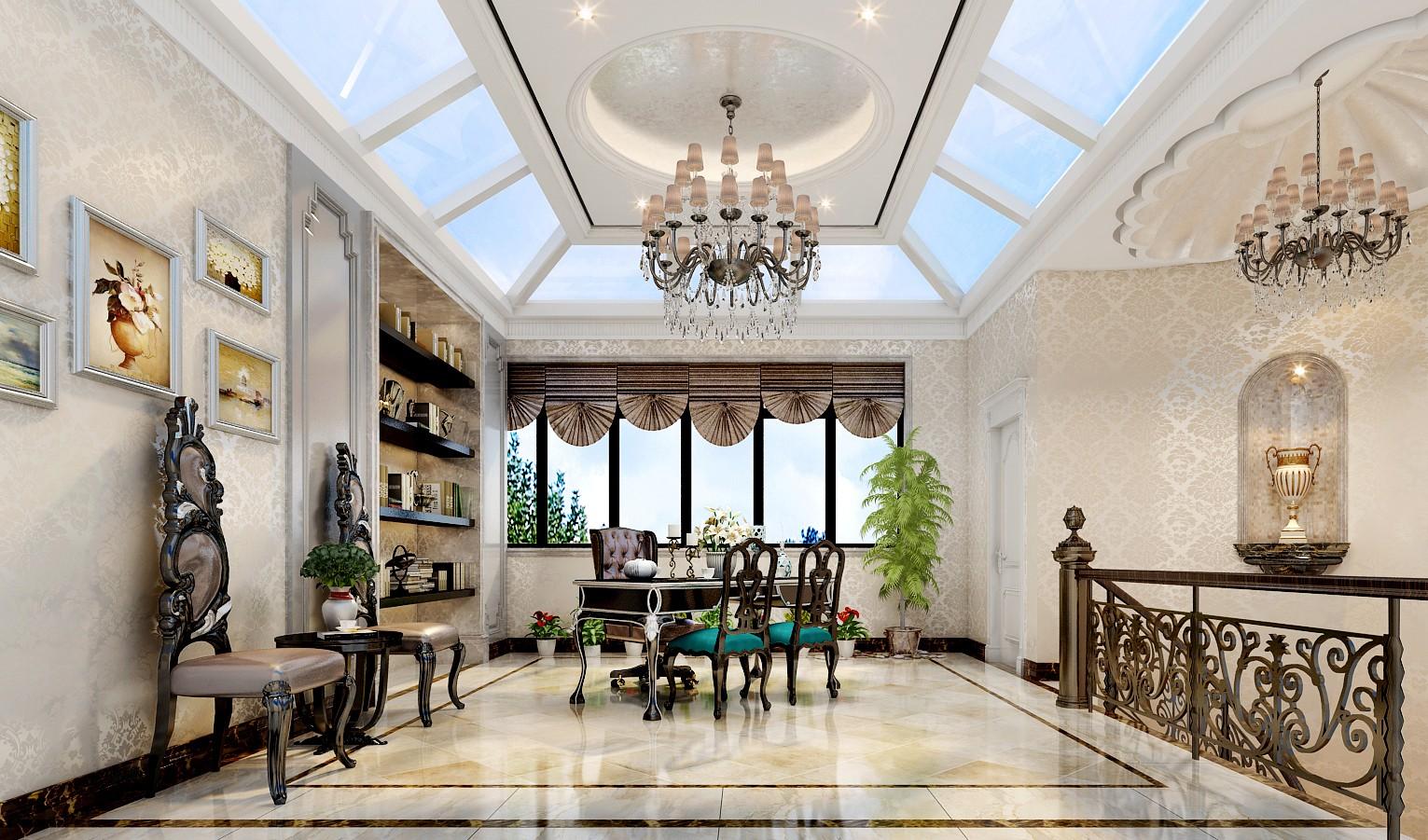 3室2卫2厅360平米新古典风格