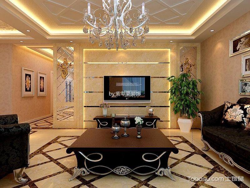 文兴苑113平米欧式风格装修设计效果图