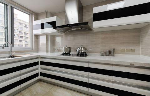 厨房背景墙简约风格装饰设计图片