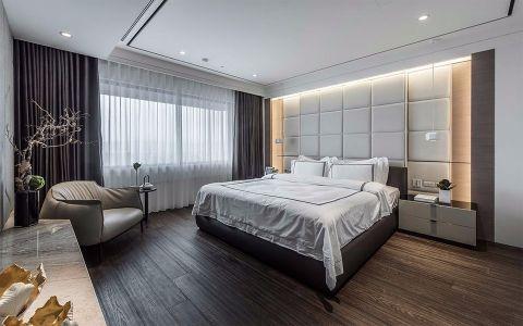 卧室现代简约风格装潢设计图片