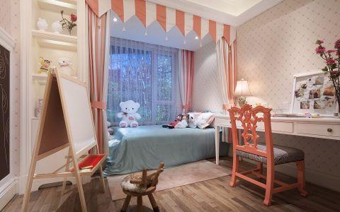 儿童房美式风格装饰图片