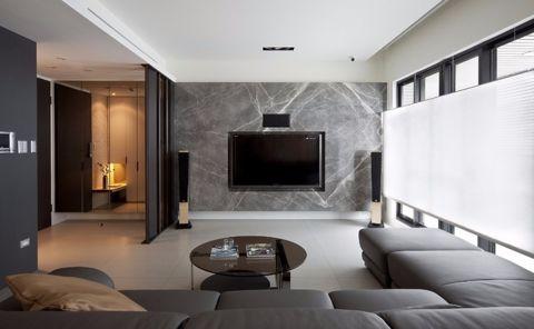 嘉凯城名城博园现代简约风格二居室效果图