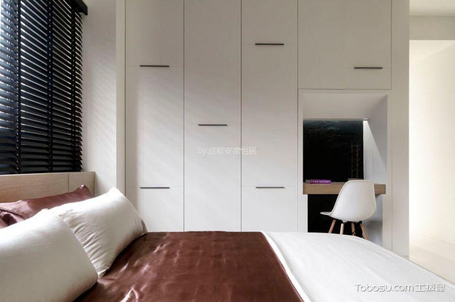 2019现代简约卧室装修设计图片 2019现代简约隐形门装修图