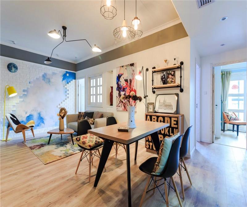3室1卫2厅85平米北欧风格